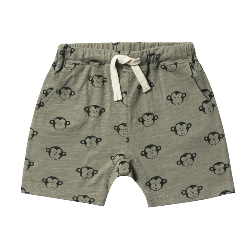 Monkey Front Pouch Short