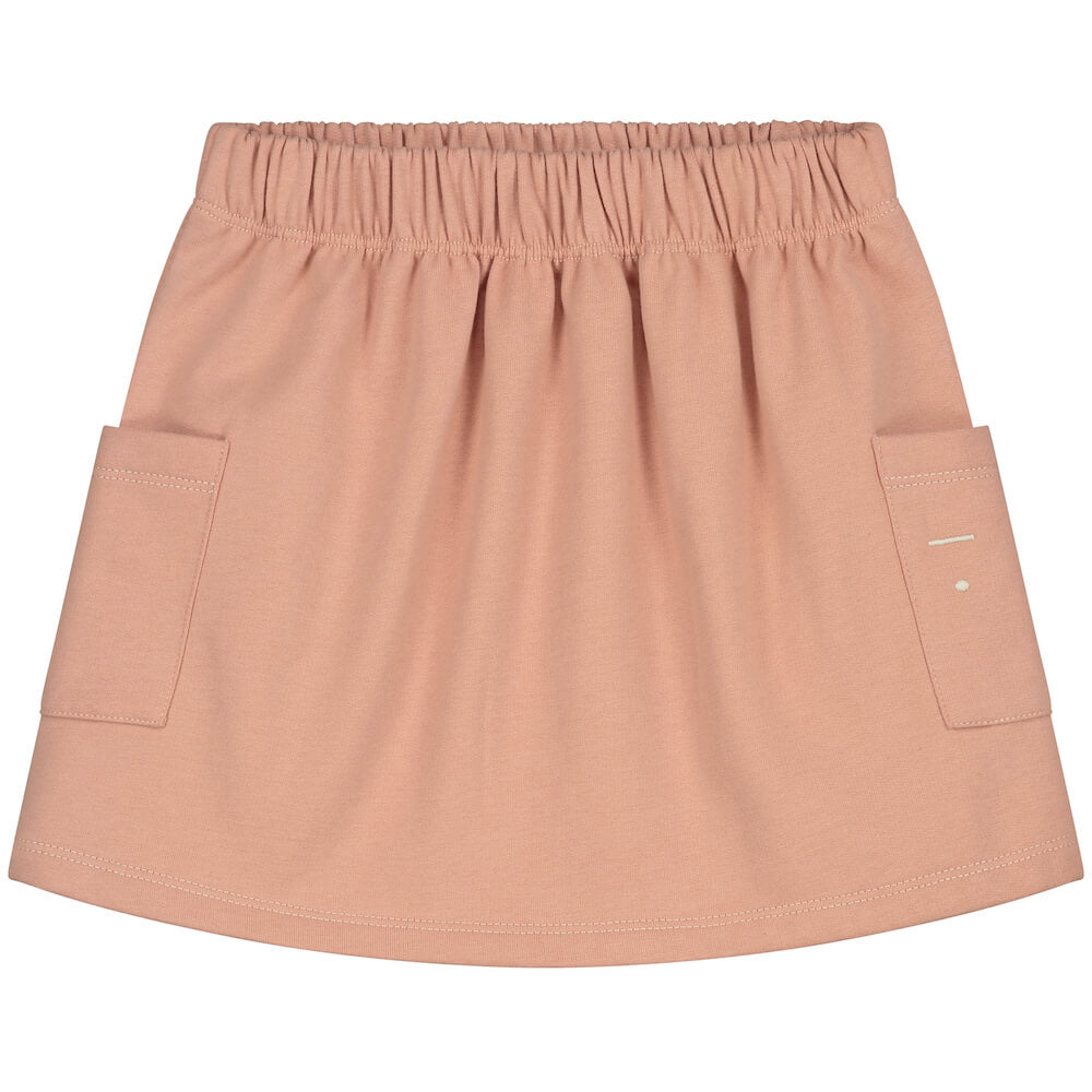 Gray Label Pocket Skirt (Rustic Clay) | Tiny People