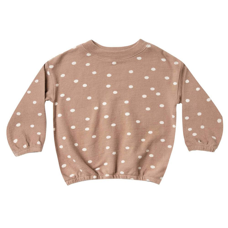 Rylee & Cru Pullover Sweater Dot Girls Tops & Tees - Tiny People Cool Kids Clothes