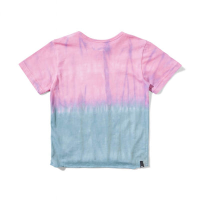 Splitz T-Shirt Magenta / Blue