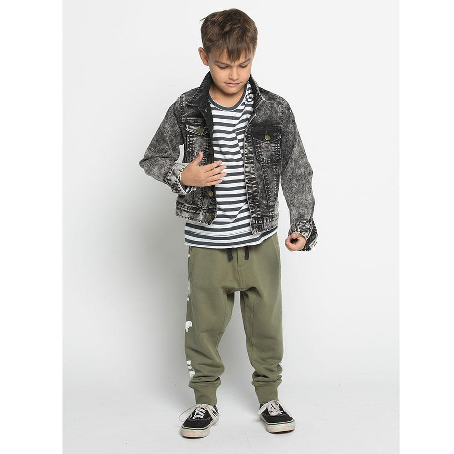 Munster Kids Supster2 Denim Jacket - Tiny People Cool Kids Clothes Byron Bay