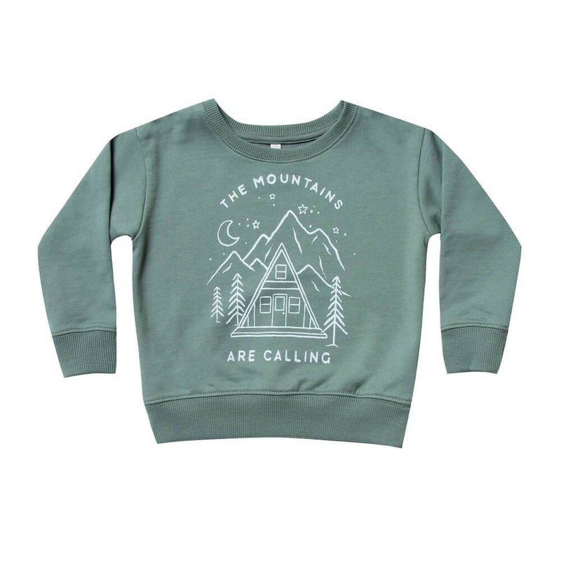 Rylee & Cru Mountains are Calling Sweater Boys Tops & Tees - Tiny People Cool Kids Clothes