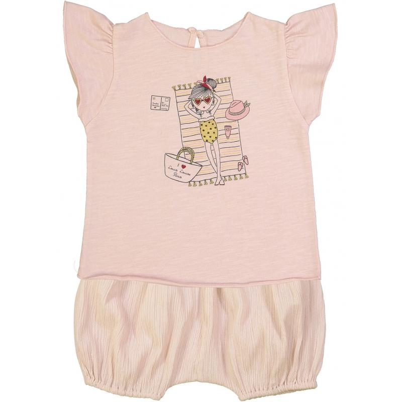 T-Shirt Papillon Jersey Louisette Light Pink