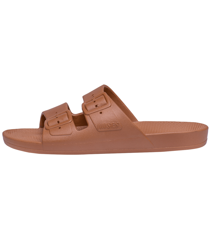 Freedom Moses Adult Slides Toffee