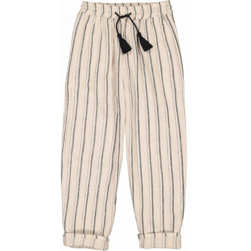 Trousers Valentin Stripes Black & White