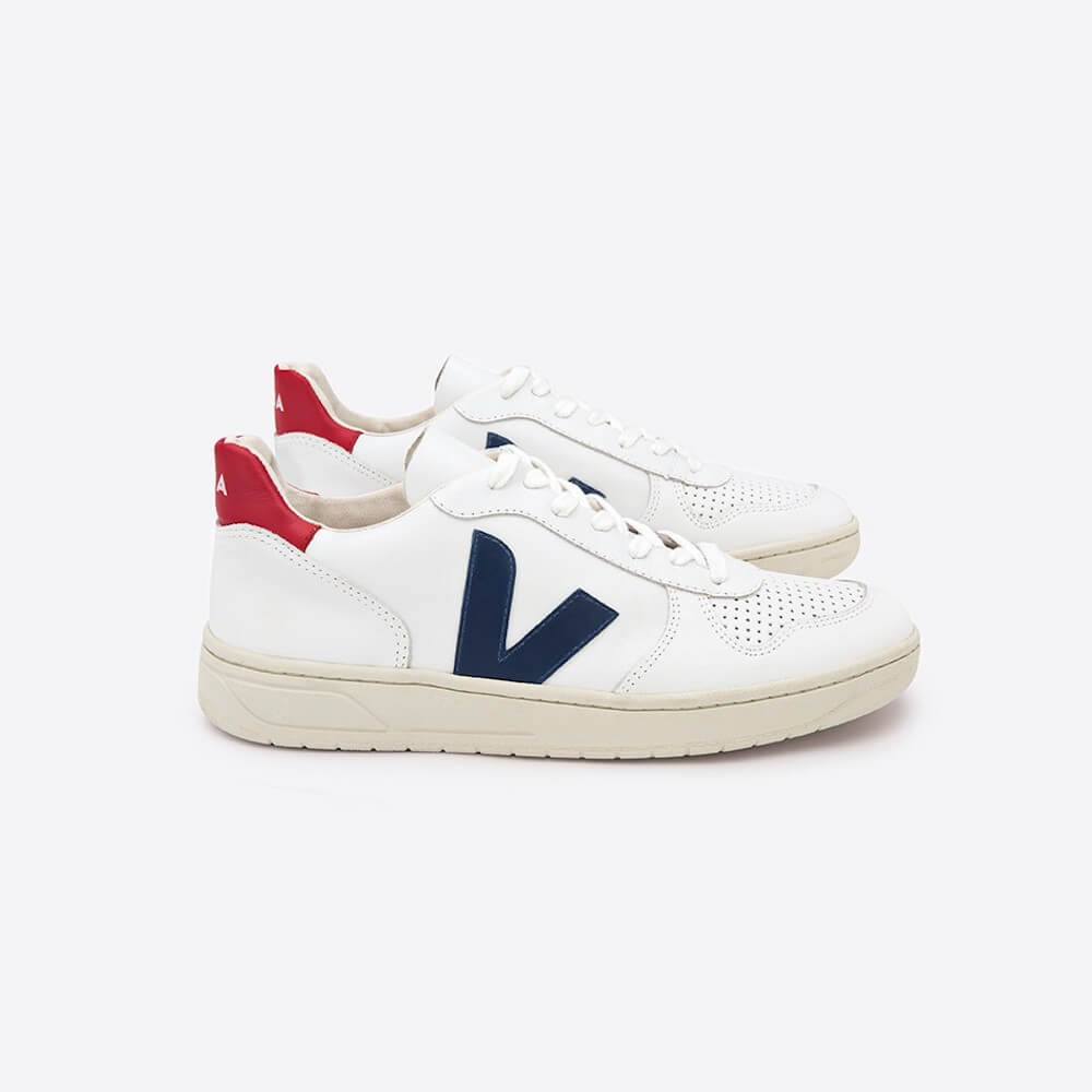 Veja V-10 Extra White Nautico Pekin (Womens) | Tiny People