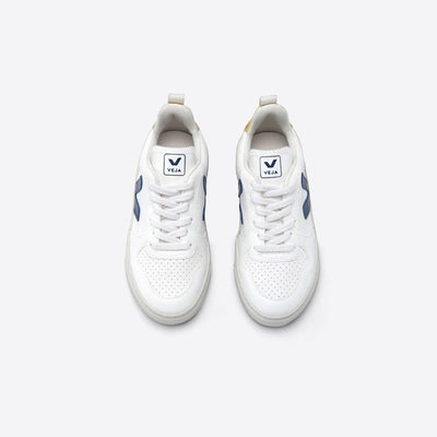 V-10 White Cobalt Tonic Sneakers (Vegan)