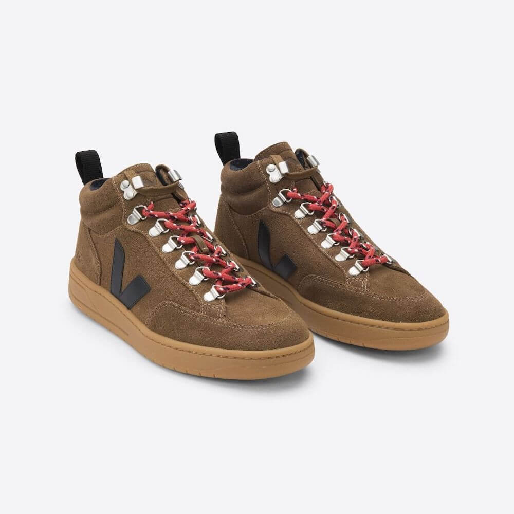 Veja Roraima Sneaker in Suede Brown (Older Boys/Mens) | Tiny People