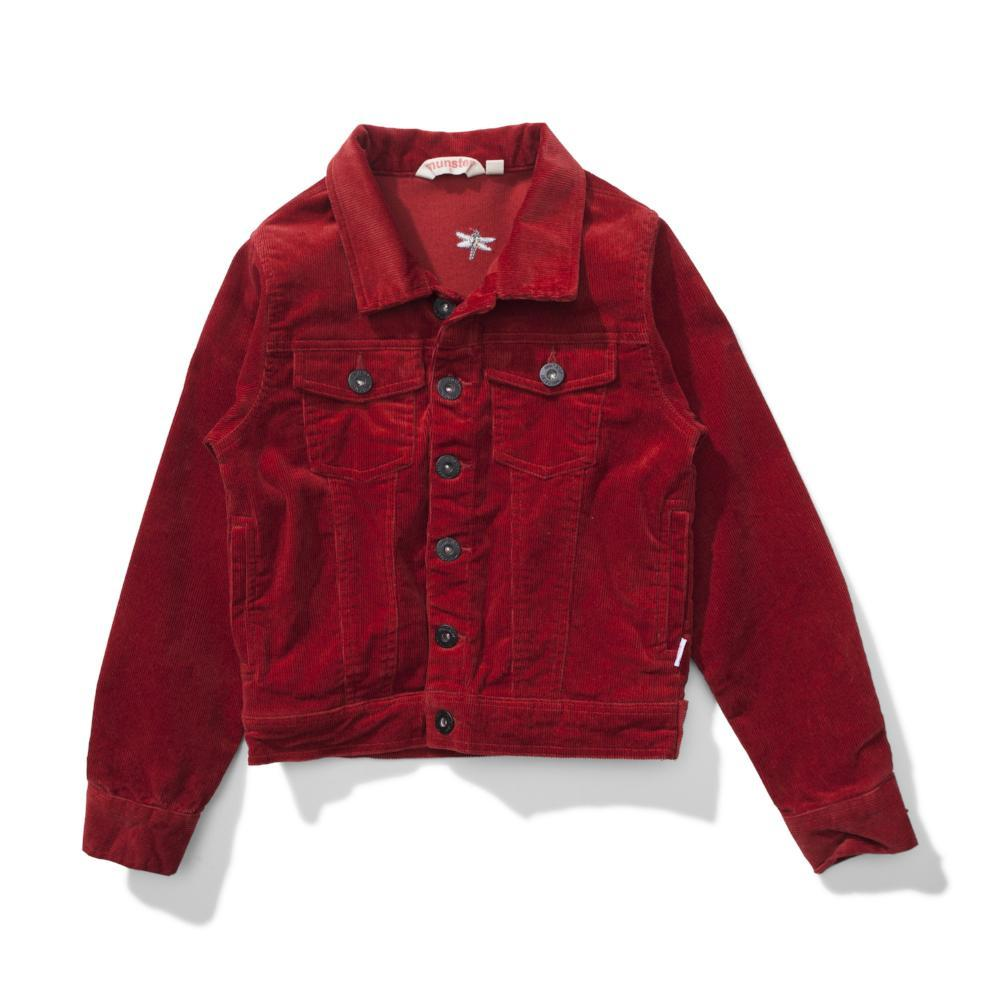 Ventura Cord Jacket Rust Red