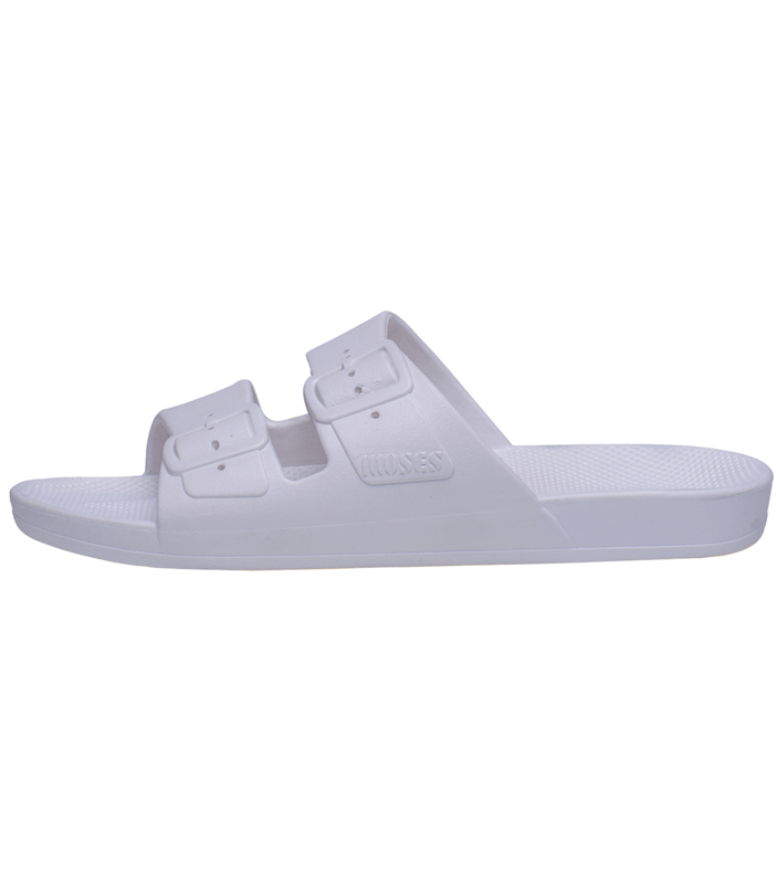 Freedom Moses Freedom Moses Adult Slides White - Tiny People Cool Kids Clothes Byron Bay