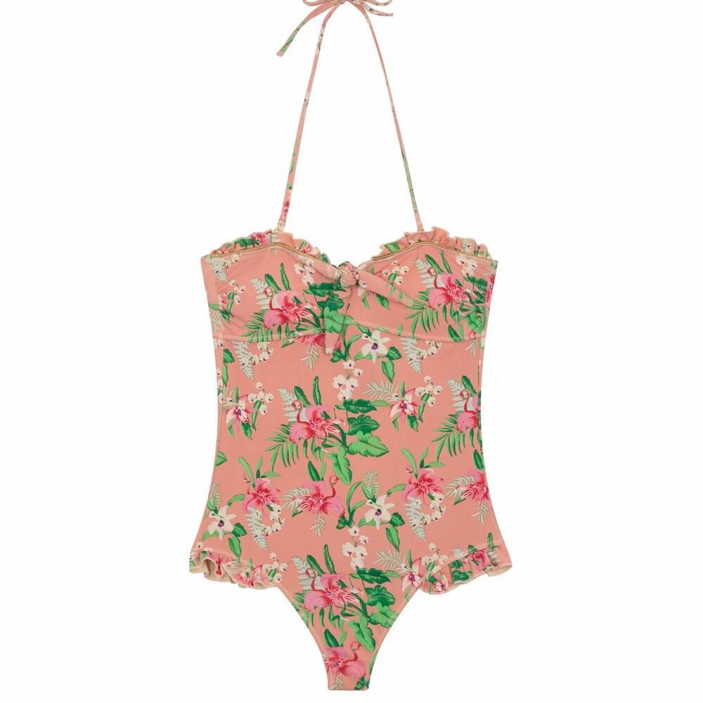 Louise Misha Women's Bayo Bathing Suit Sienna Flamingo | Tiny People