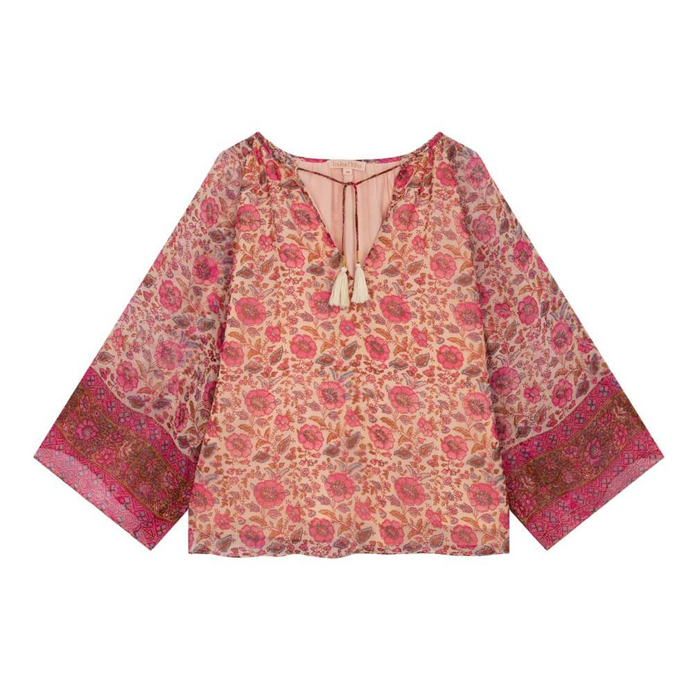 Louise Misha Women's Maribel Blouse Vintage Flowers | Tiny People