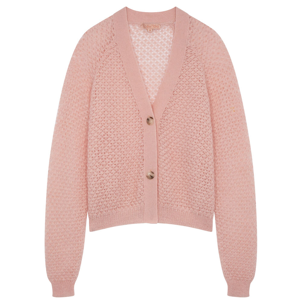 Louise Misha Women's Caya Cardigan Blush | Tiny People