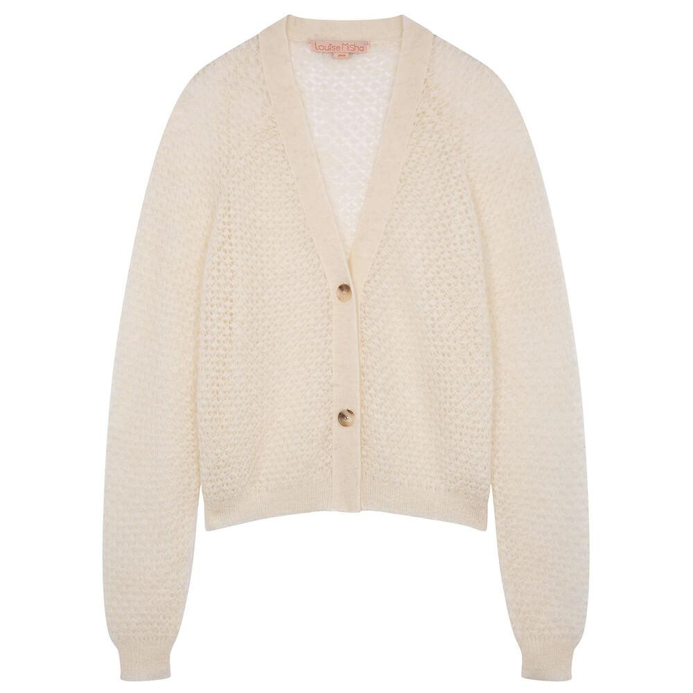 Louise Misha Women's Caya Cardigan White | Tiny People