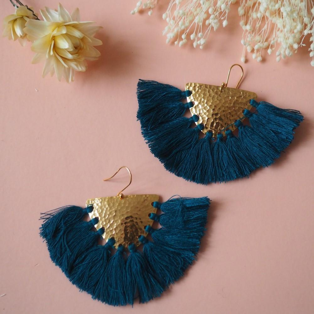 Women's Makawe Earrings Lagoon