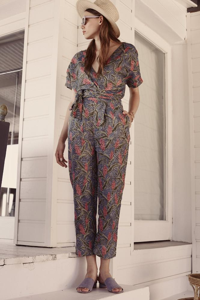 Women's Rewha Jumpsuit Lagoon Leaves