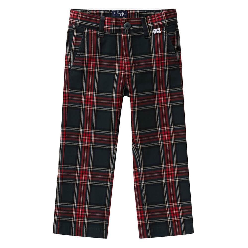 Stretch Tartan Trousers