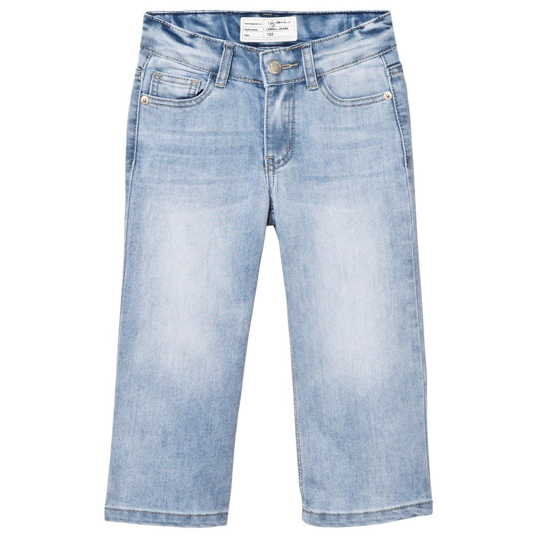 I Dig Denim Lowell Culottes Light Blue Unisex Pants - Tiny People Cool Kids Clothes