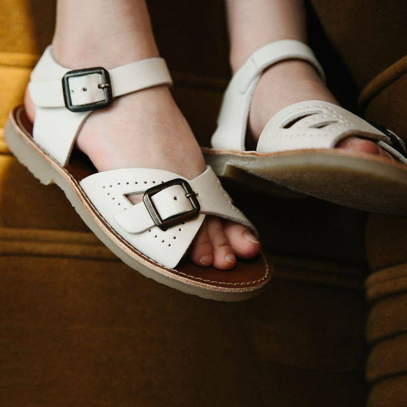 Pearl Sandal Vanilla Leather