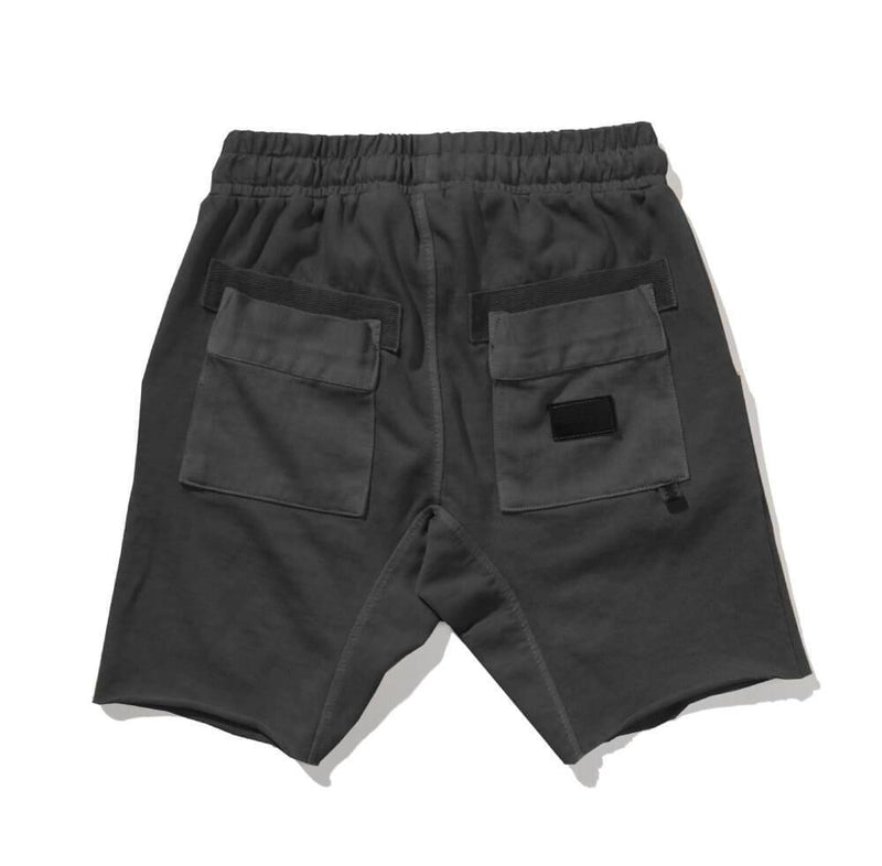 Munster Zap Me Shorts Washed Black | Tiny People