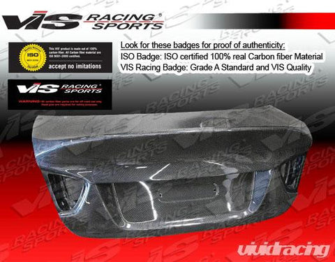 VIS Racing Carbon Fiber CSL Trunk Lid BMW 3-series 4dr E90 06-08