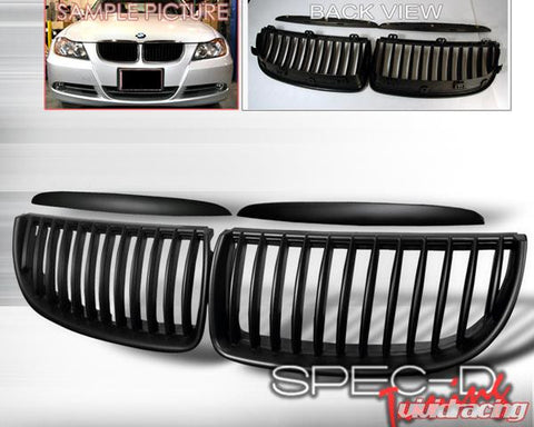 SpecD Black Vertical Grill E90/Sedan