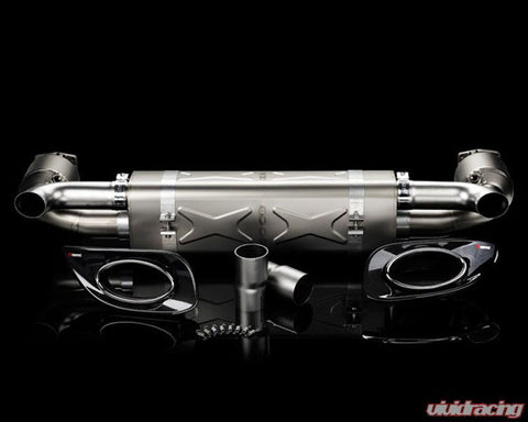 Akrapovic Slip-On Titanium Exhaust Porsche 997.2 TT 10-13