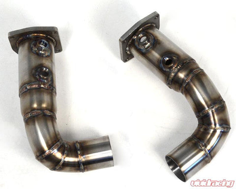 Agency Power Cat Delete Race Pipes Porsche 997.2 Turbo 10-12