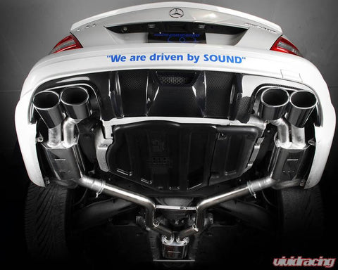 Eisenmann Stainless Catback Exhaust C63 AMG Sedan