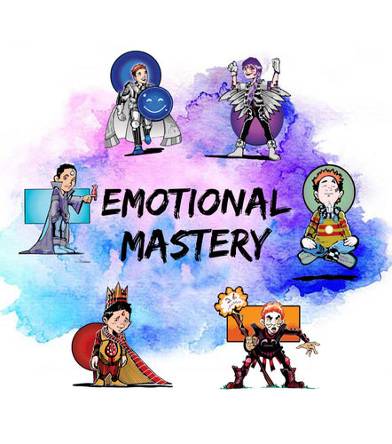 5 Steps to Mastering Your Emotions, LIVE CLASS (Ages 8-12)