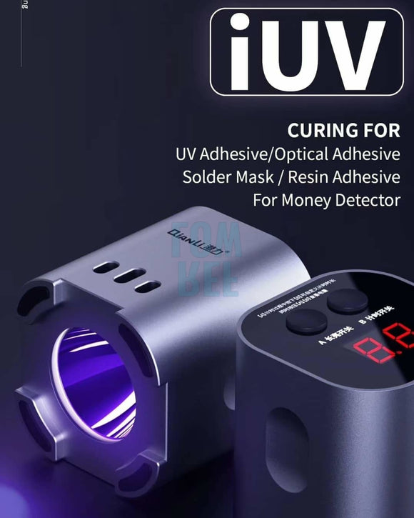 Qianli Iuv Curing For Uv Adhesive Optical Resin Money Detection