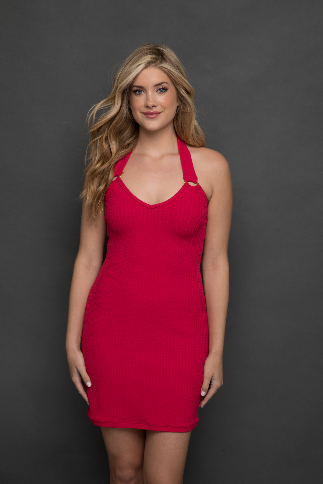 Siren Halter Resort Dress