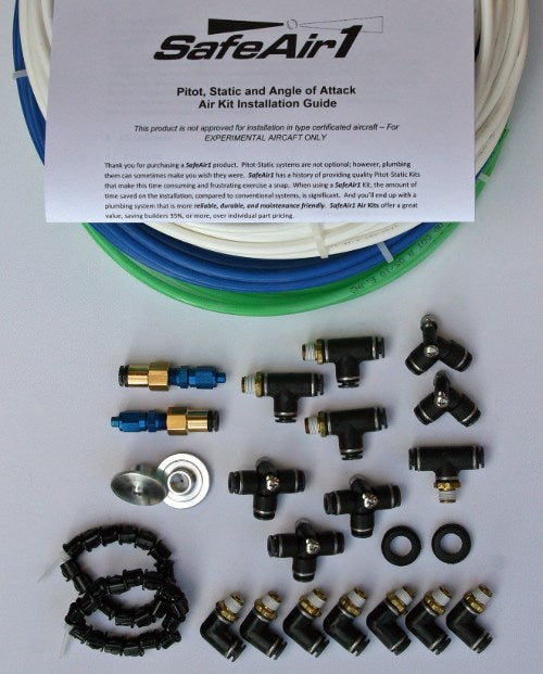 Pitot, Static, and Angle of Attack Plumbing Kit