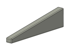 Tungsten Bucking Bar - Trailing Rib