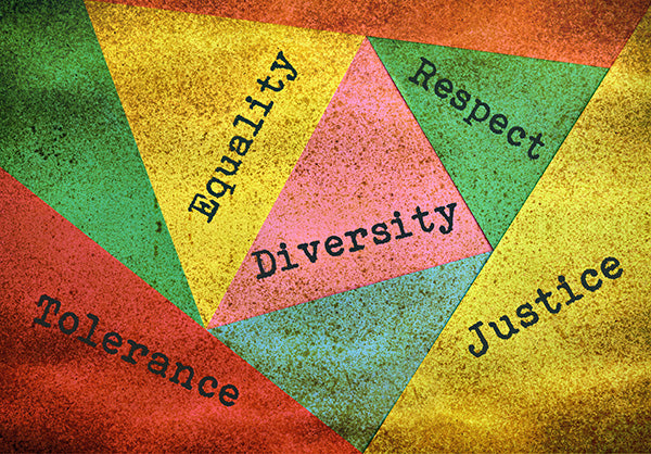 Equality, Diversity, Respect, Justice & Tolerance image