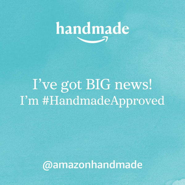 We are on Amazon Handmade!!