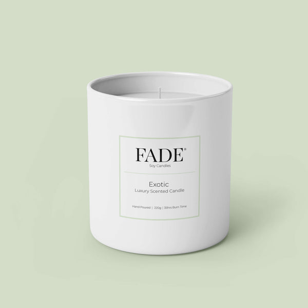Exotic Scented Soy Candle