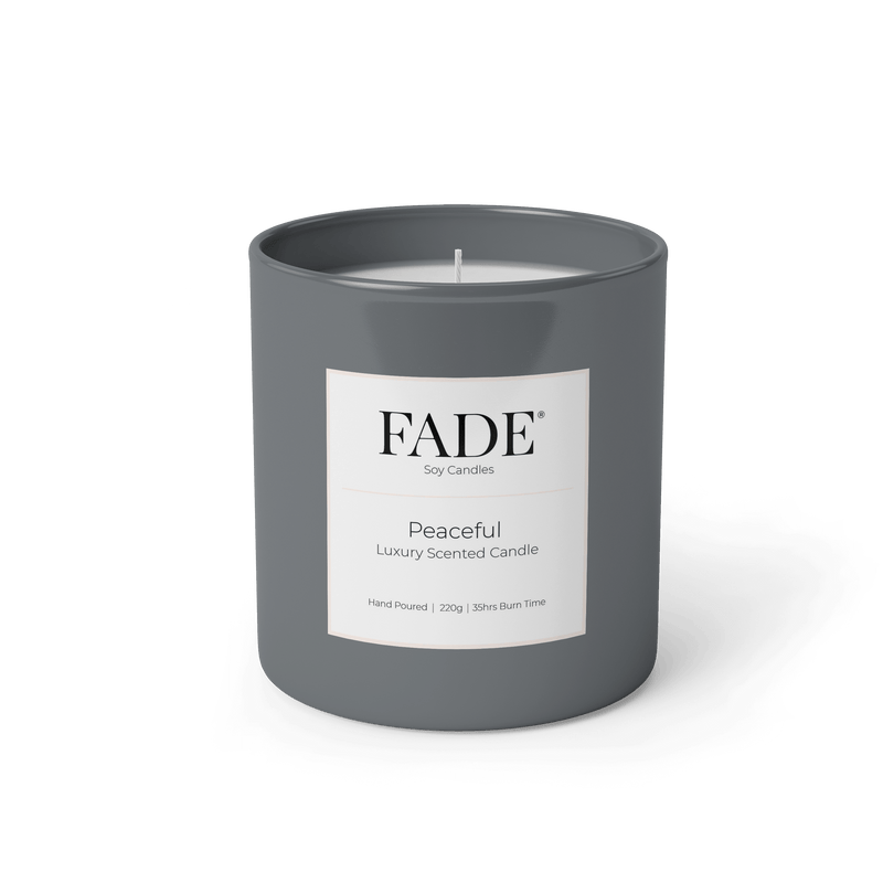 Peaceful Scented Soy Candle