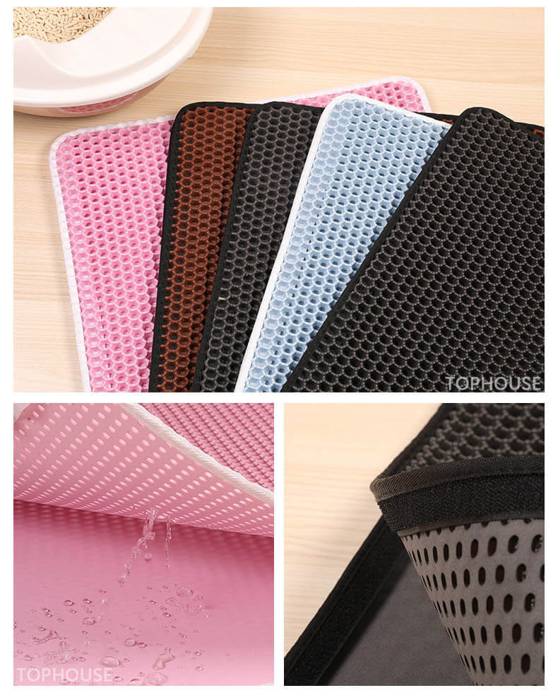 aipaws waterproof cat litter mat