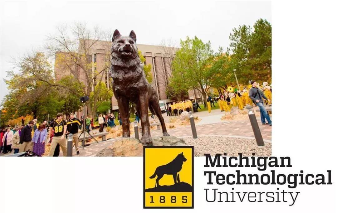 The mascot of Michigan technological university