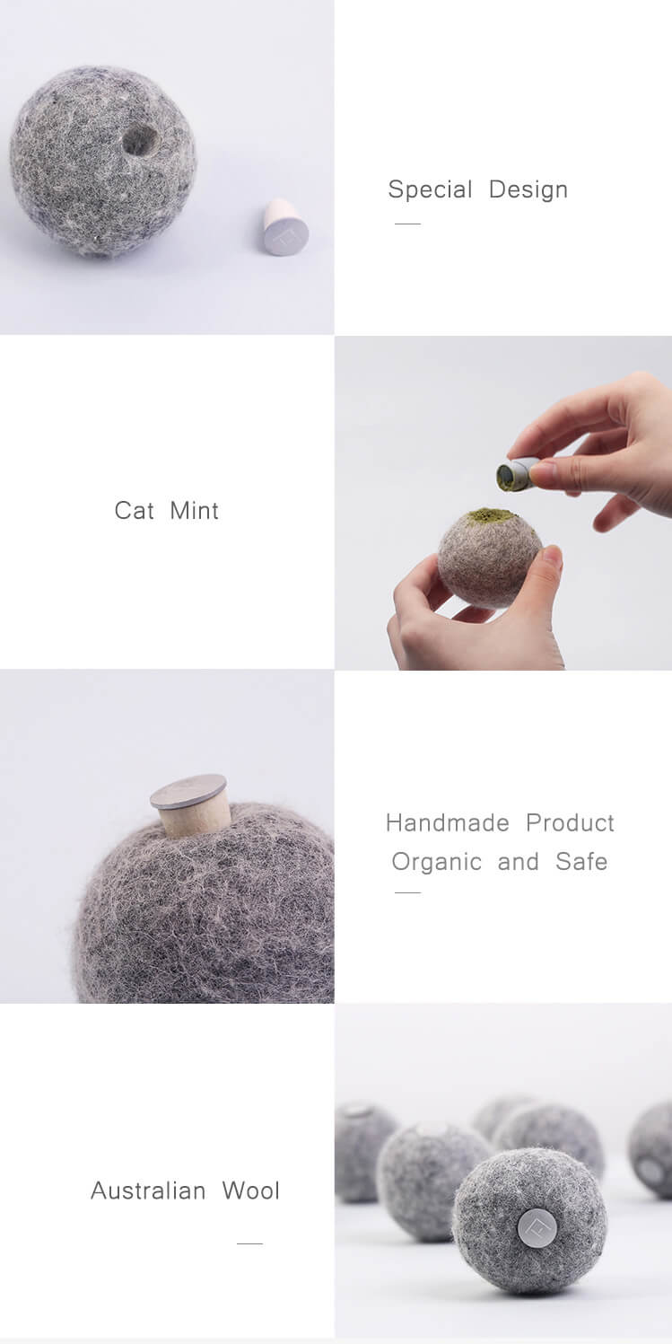 wool ball cat toy instruction