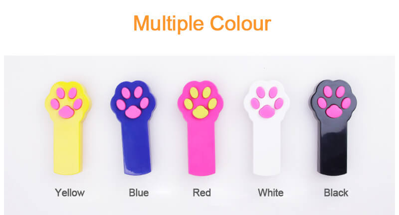 Paw toy cat teaser laser toy