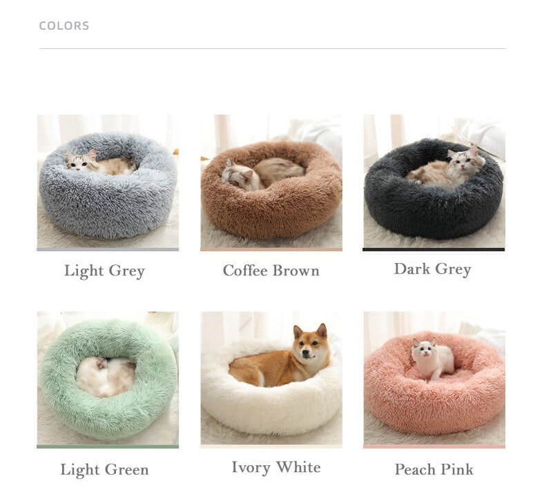 Marshmallow cat bed color