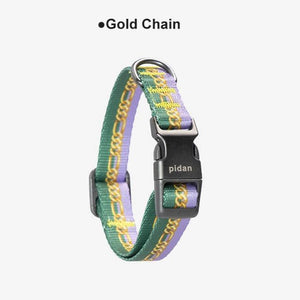 Pidan-Dog-Collar-gradient-dog-collar-soft-dog-collar-for-small-and-big-dog-gold chain