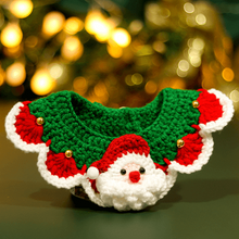 Load image into Gallery viewer, Christmas-Santa-Claus-Bow-cat-Collar