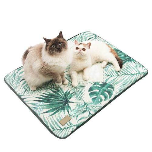 3D Print Summer Ice Silk Pet Dog Cooling Mat For Cats Dogs