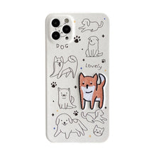 Load image into Gallery viewer, iPhone Case Embroidered Shiba dog