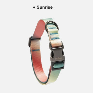 Pidan-Dog-Collar-gradient-dog-collar-soft-dog-collar-for-small-and-big-dog-sunrise