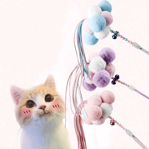 aipaws pom pom cat toy