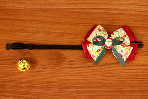Christmas-Santa-Claus-Bow-Pet-Collar-Bell